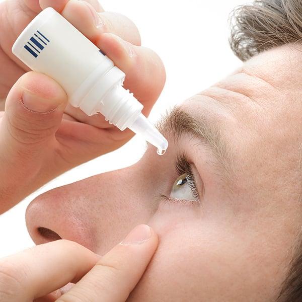 Cuidar de la vista en invierno con lentillas: Gotas para los ojos