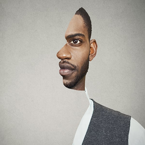 ilusiones ópticas -perfil o frente