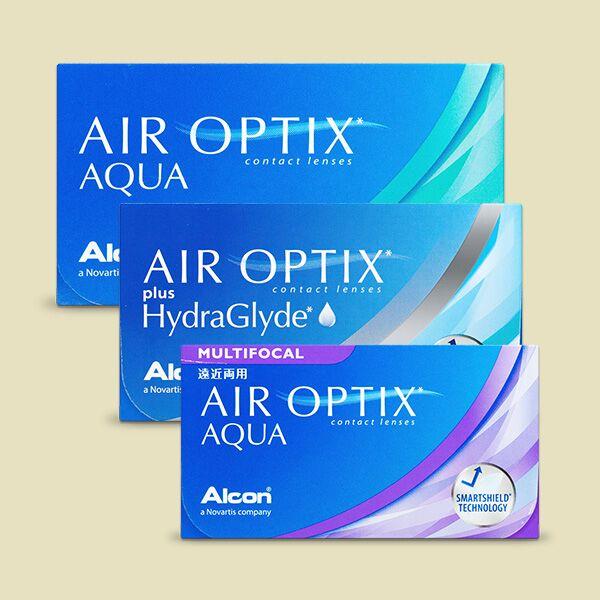 Meilleures lentilles de contact Air Optix
