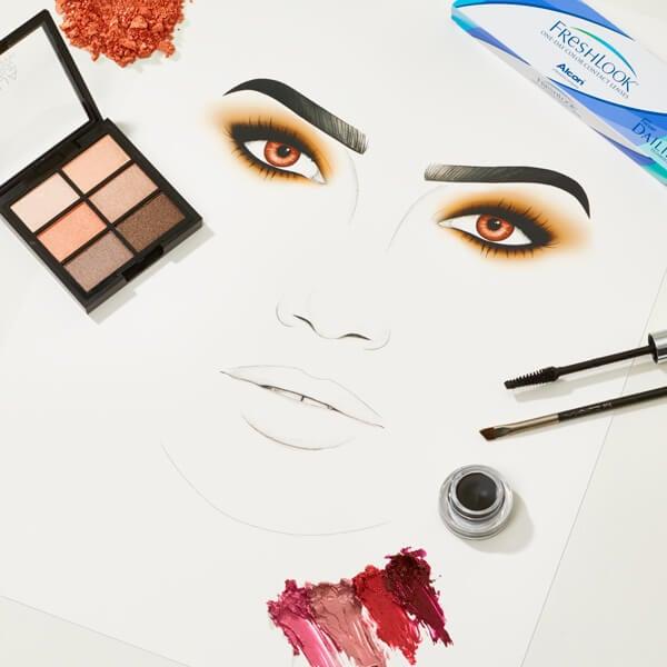 Lily Aldridge makeup