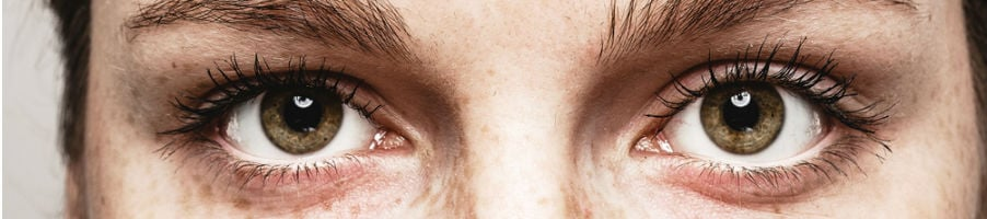 Close up van twee ogen