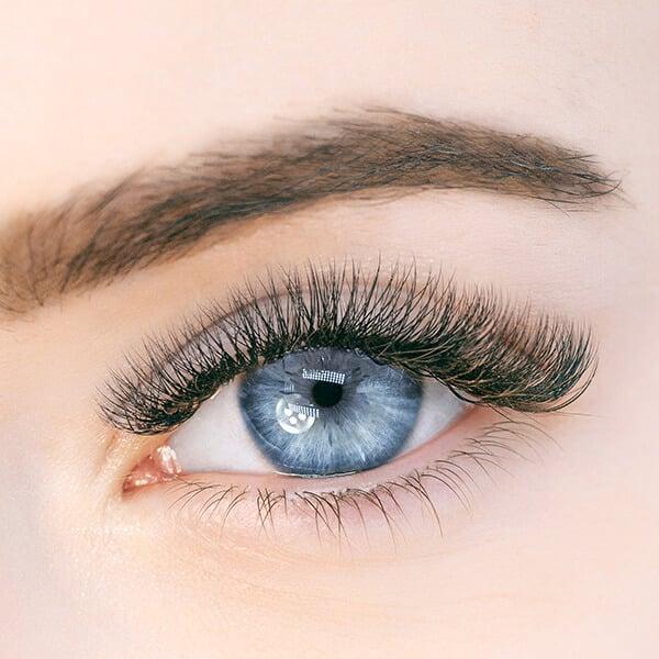 Een close up van een oog