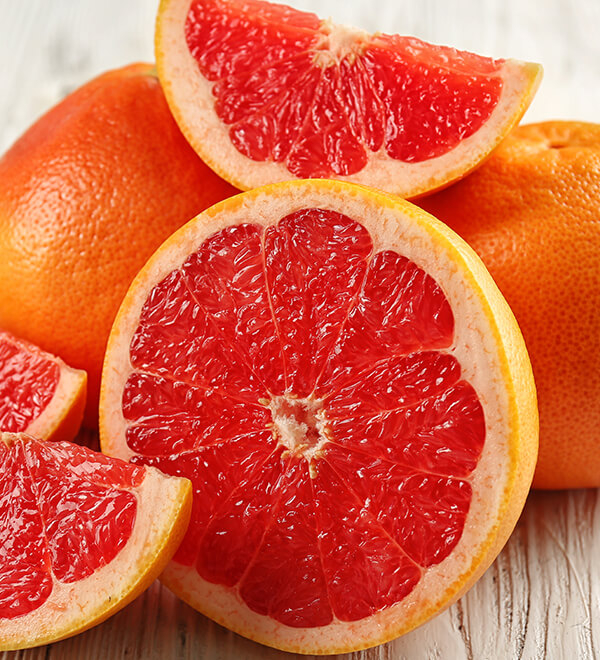 Blood oranges citrus fruit