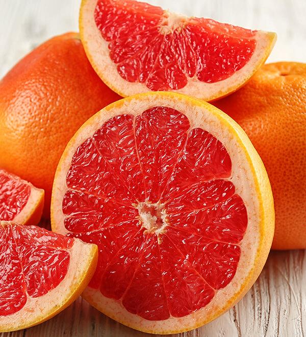 Orange sanguine et agrumes