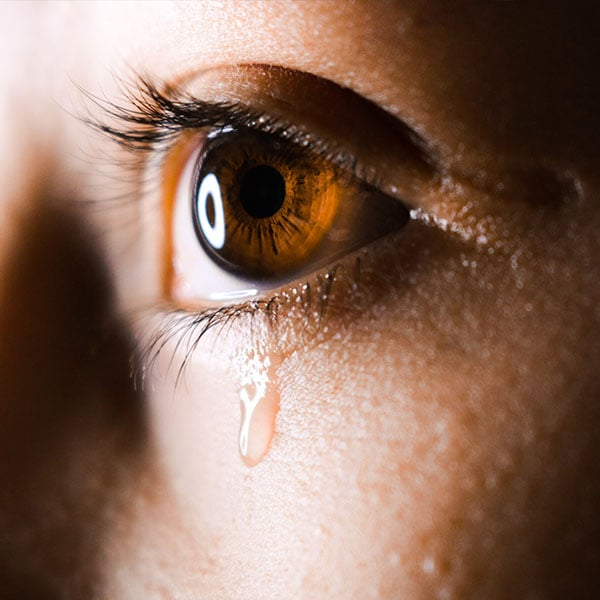 Detecting glucose levels in tears