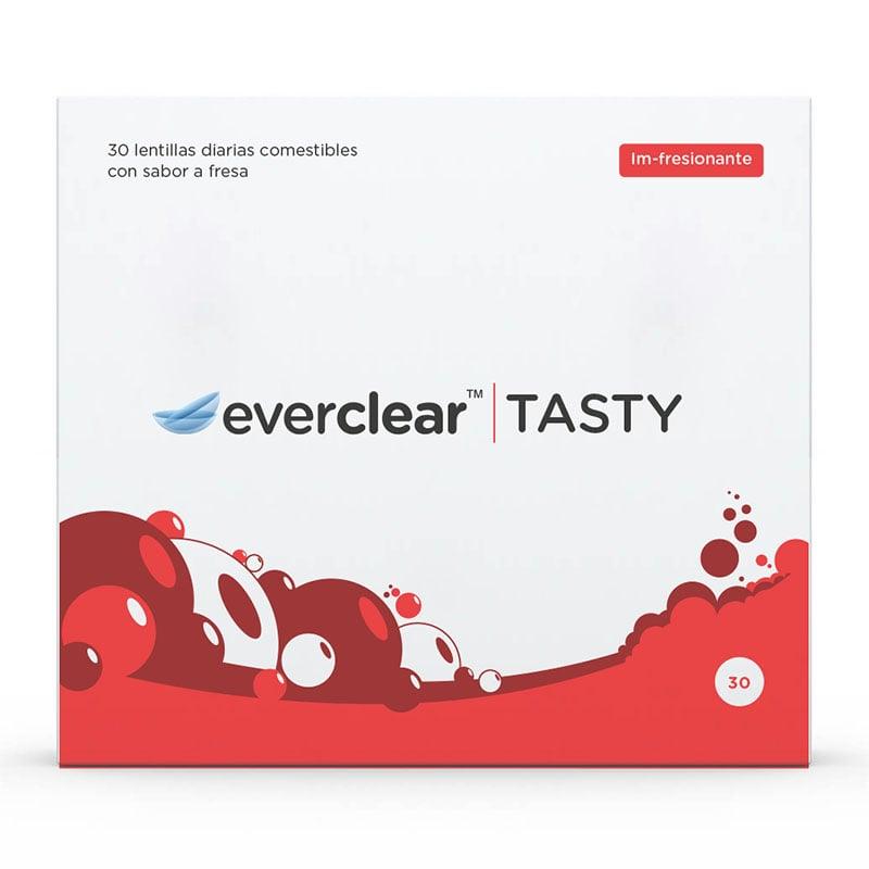 Caja de las lentillas everclear TASTY sabor Im-fresionante