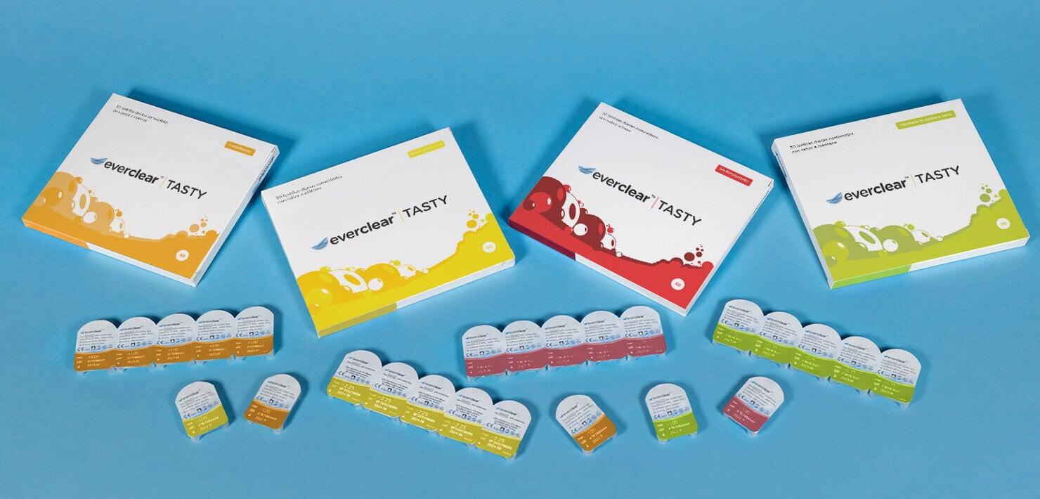Vision Direct presenta everclear TASTY: lentillas comestibles de sabores