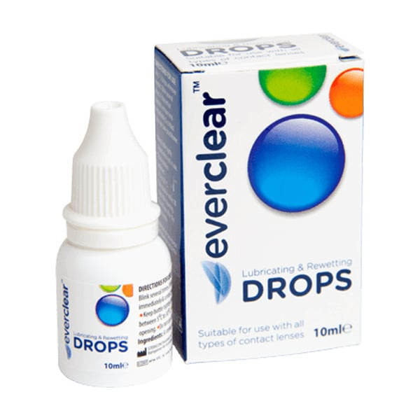 everclear Eye Drops bottle