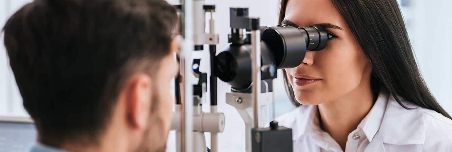Eye test banner: world glaucoma week 2019