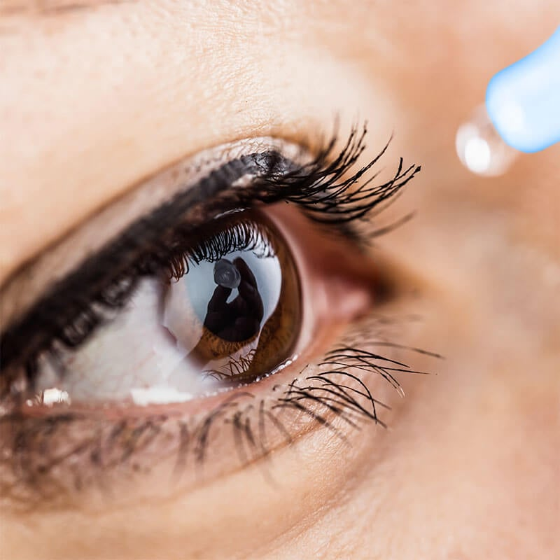 3 mitos sobre las gotas para los ojos