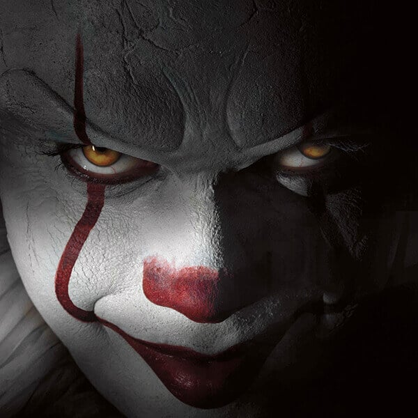 Pennywise, de clown uit de film IT