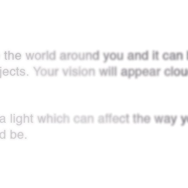 Voici comment voir si vous avez eu des cataractes