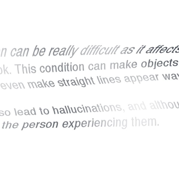 Voici comment voir si vous avez eu une dégénérescence maculaire