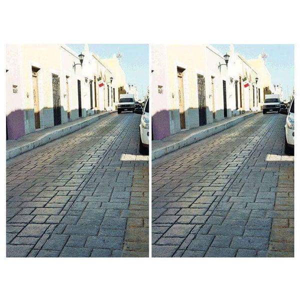 street illusion