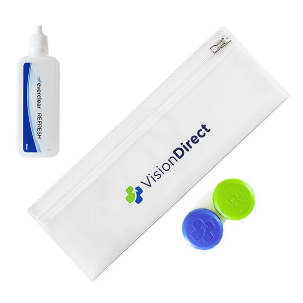 Kit esencial para lentillas reutilizables de Vision Direct
