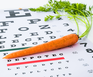 Carrot eye test
