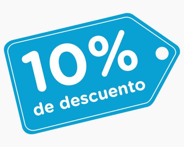 10% de descuento en tus lentillas baratas