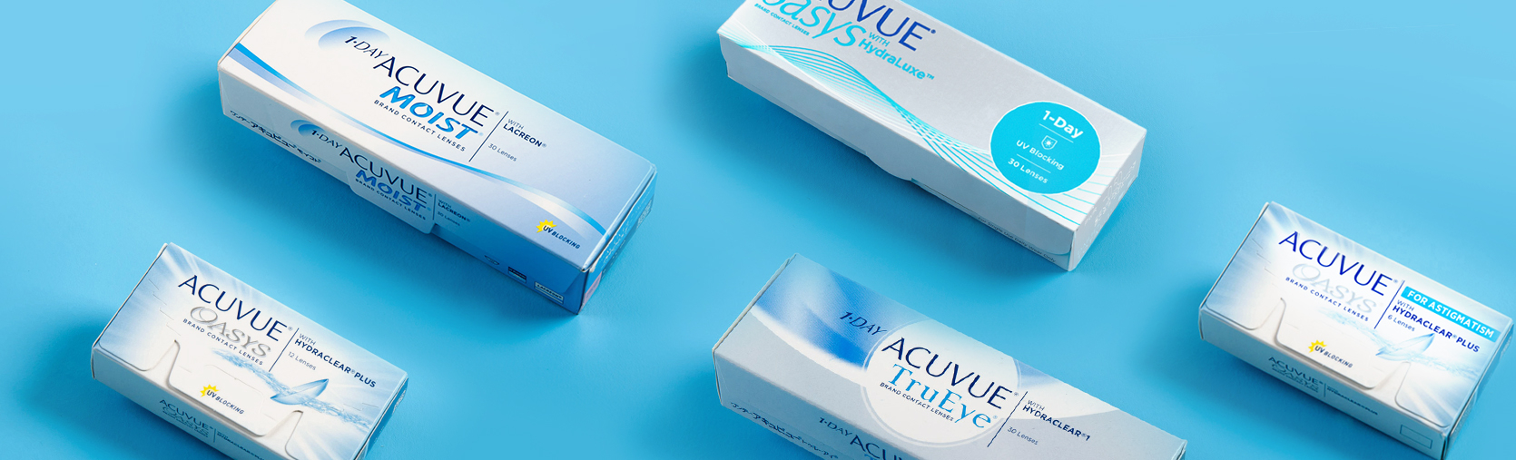 Acuvue contact lens packets