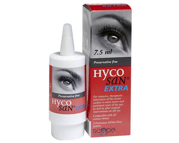 Gotas para los ojos Hycosan Extra