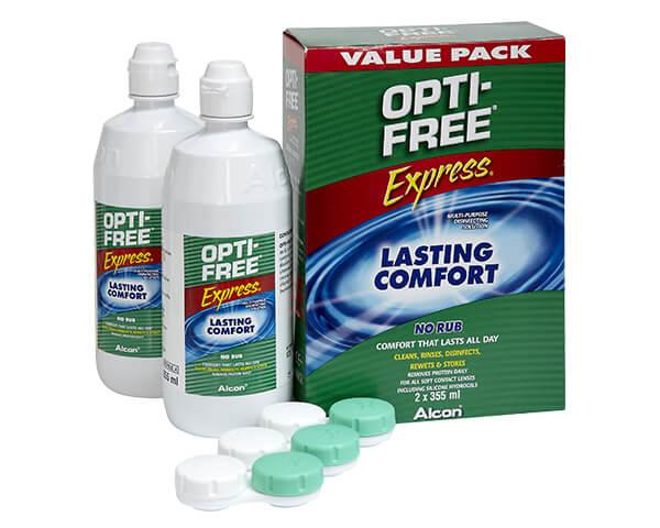 Pack de dos Express Opti-Free