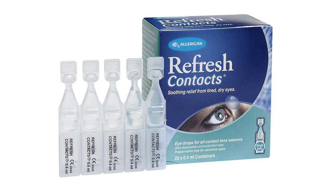 Refresh Contact Vials