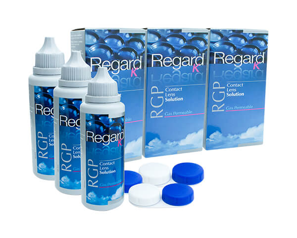 Regard K RGP contact lens solutions 3 Month Pack