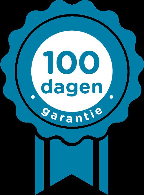 100 dagen garantie
