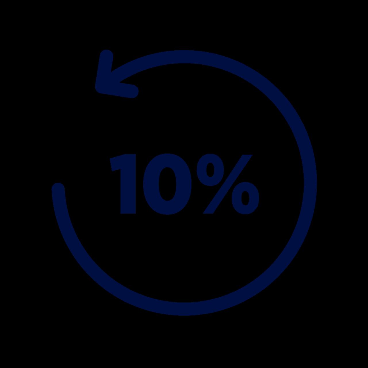 -10 % de bienvenue