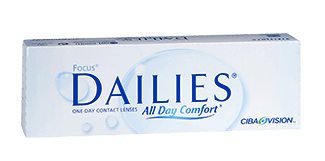 Focus Dailies All Day Comfort is one of the UK's most popular daily contact lenses