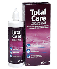 Total Care Wetting contact lens solutions
