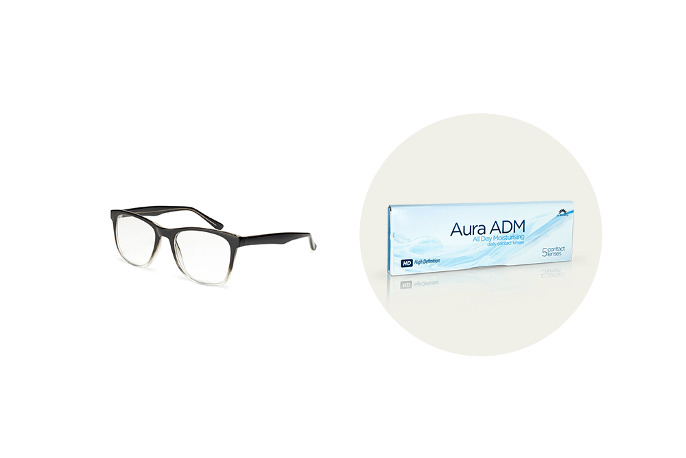 Will you be wearing contacts or glasses for Christmas