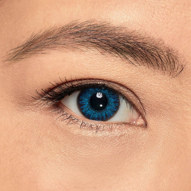 Colour contact lens Blue