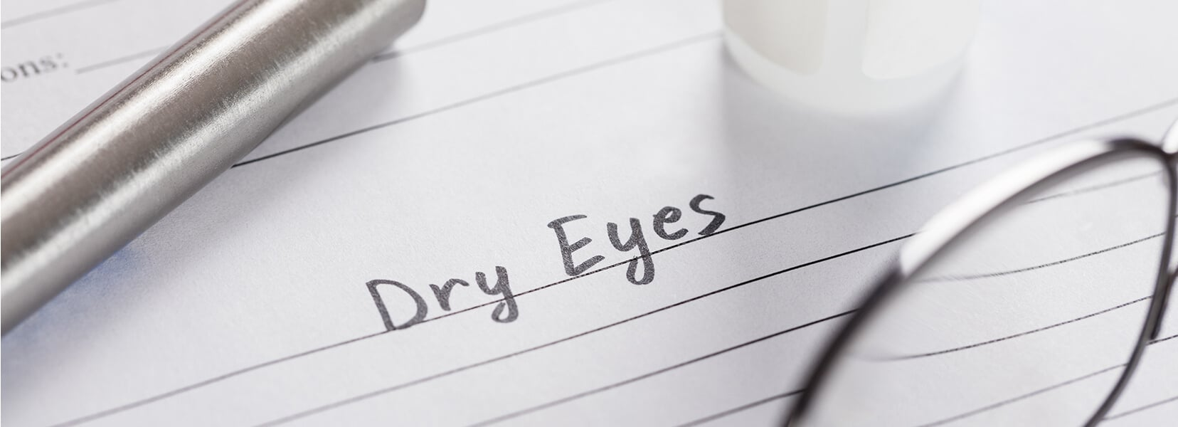 Dry eyes diagnosis