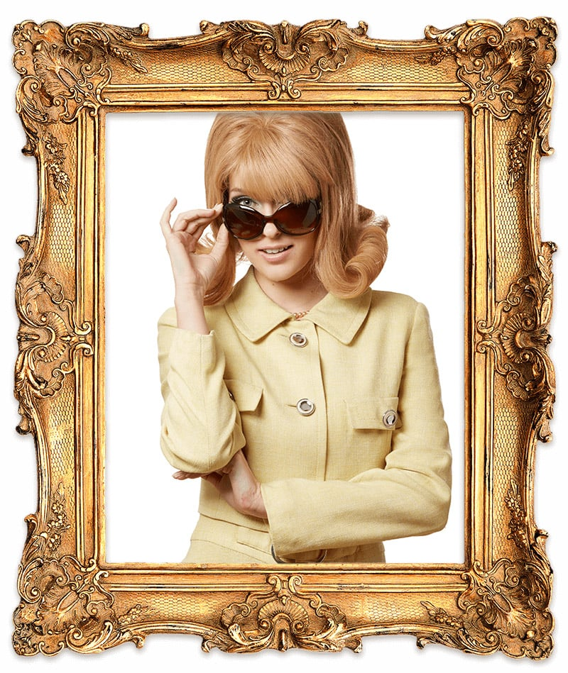 Jackie O sunglasses (1960s) Glasses