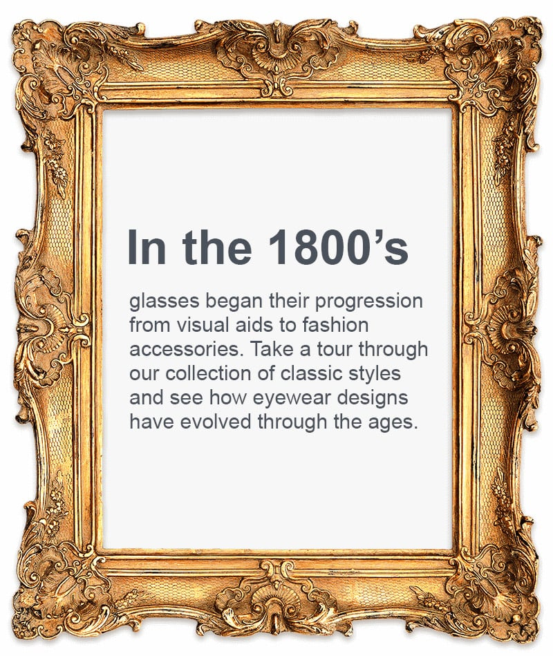 Vision Direct's History of Eyewear – The evolution of glasses style