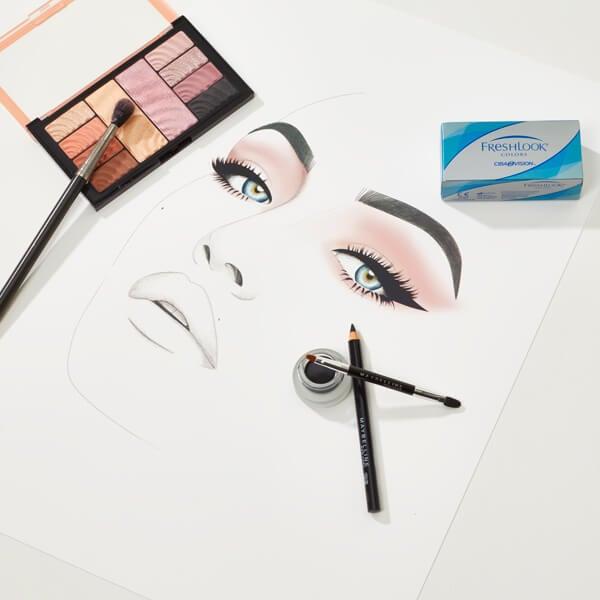 Illustrations maquillage stars