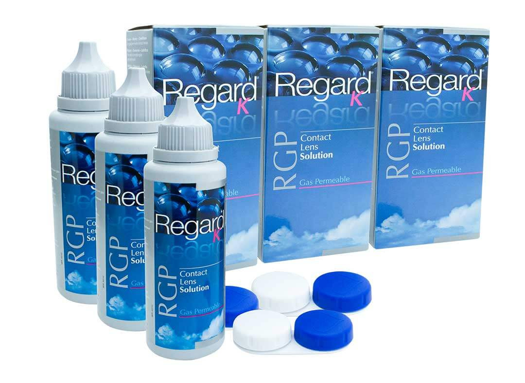 Regard K RGP 3 month pack contact lens solution