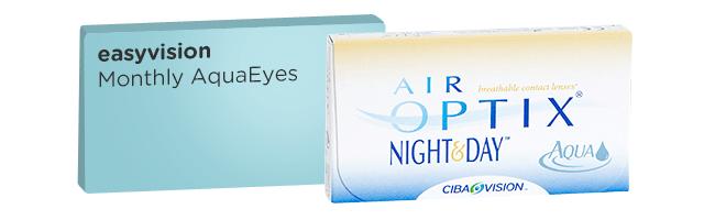 easyvision Monthly Aquaeyes equivalent