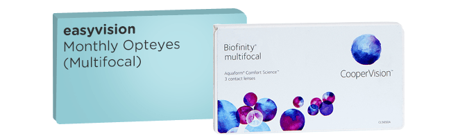 easyvision Monthly Opteyes equivalent