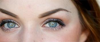 De natuurlijke ogen van Suzanne