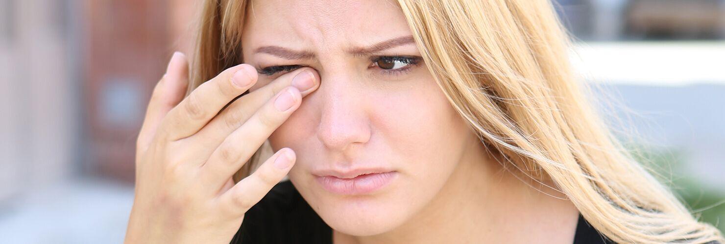 Tipos de lentillas para ojos secos