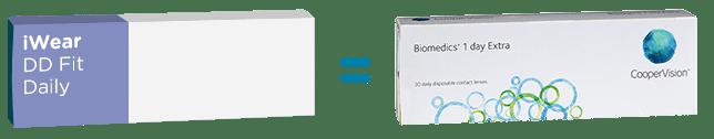 Biomedics 1 Day Extra