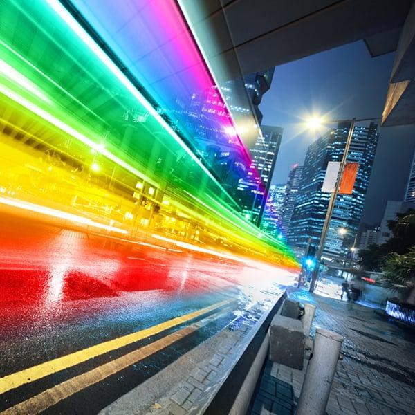 rainbow-in-grey-city