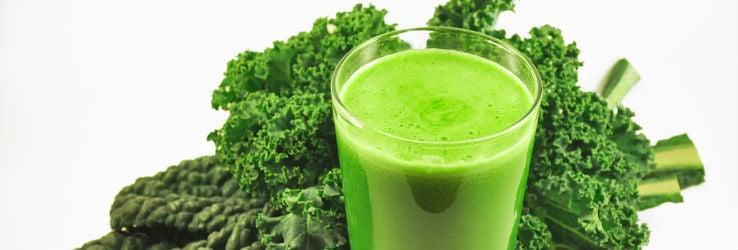 Een groene smoothie
