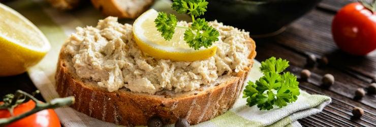 Makreelsalade is goed voor je ogen