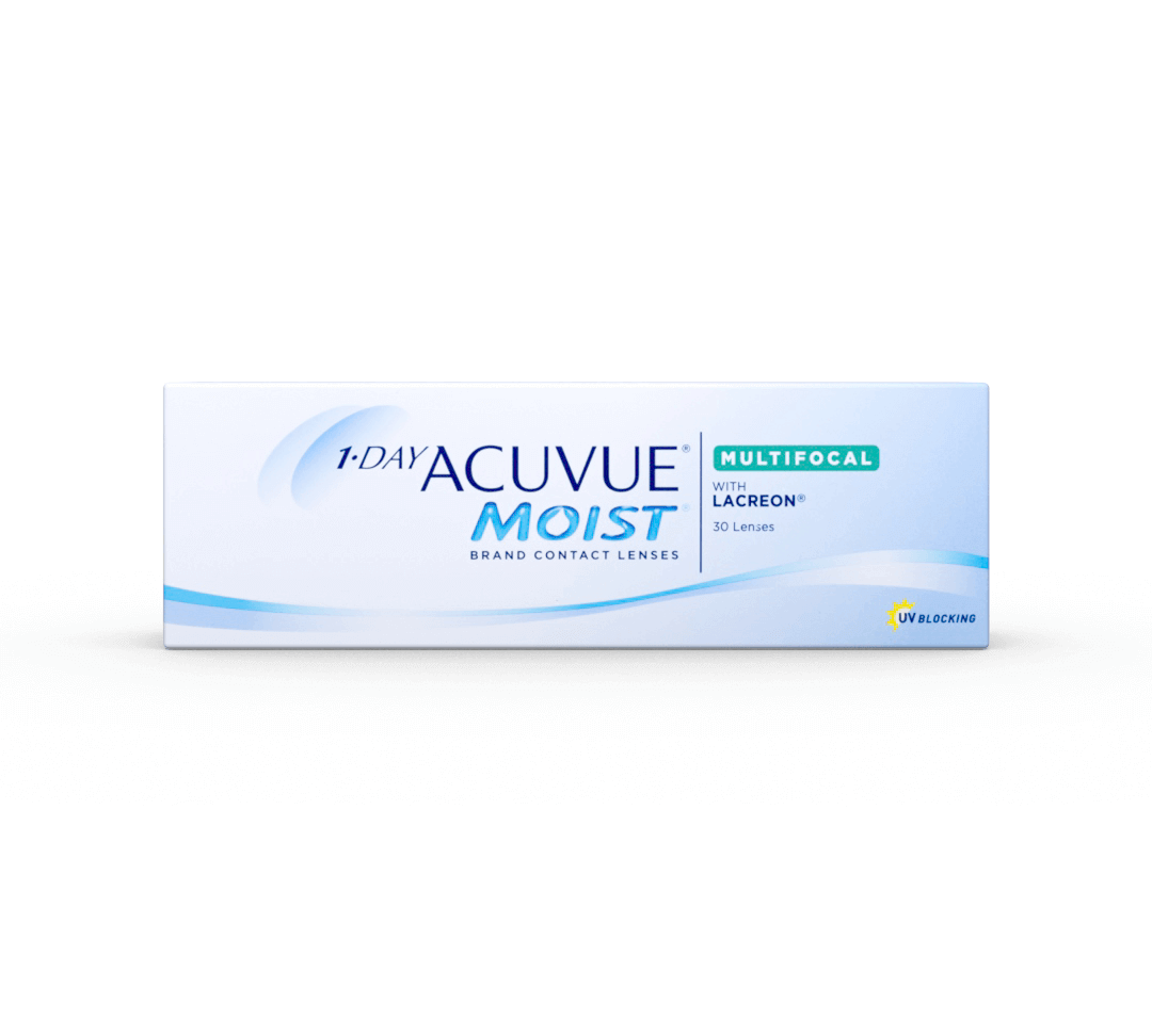 1-day Acuvue Moist Multifocals